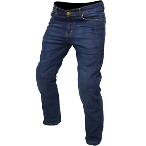 ARMR Moto M789 Classic Aramid Jeans Motorcycle Armor Blue rRP £99.99 Size 34