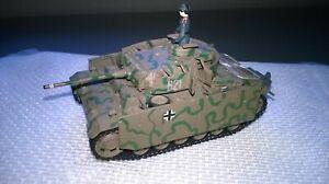 Revell 1:72 gebaut/gesupert Dt.Kampfpanzer Pz Kpfw IV aus Sammlung