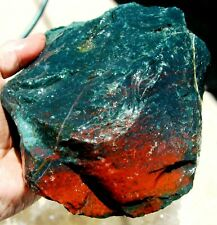 rle BLOODSTONE ROUGH, INDIA 5.22 lbs.  HELIOTROPE, PREMIUM excellent!