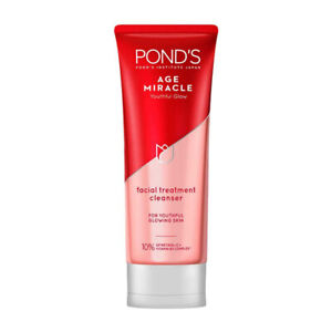 NEW Pond's Age Miracle Cell Regeneration Lightening Facial Foam Cleanser 100 g.