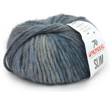 100g SLIM MONDIAL Flauschige Merinowolle mit Alpaka Alpaca Alpakawolle Wolle