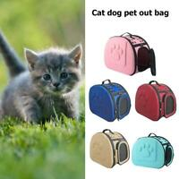 EVC Pet Carrier Bag Portable Foldable Outdoor Travel Cat Puppy Carrying Bag