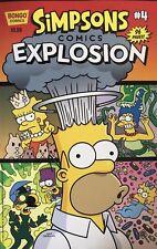 The Simpsons Bongo Comics Explosion #4 Comic Book Rare Mint New
