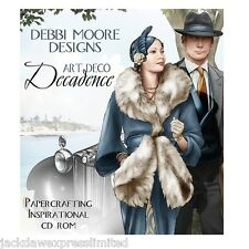 Debbi Moore Designs Art Deco Decadence Papercrafting CD Rom (324637)