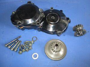 01-02 Suzuki GSXR 1000 gixxer GSXR1000 Engine Motor Starter Clutch cover gears