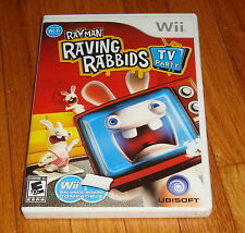 Rayman Raving Rabbids TV Party Nintendo Wii Complete