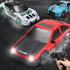 (US STOCK) 1/24 2.4G 4WD Remote Control Car Model High Speed Drift Racing Toy