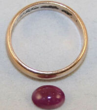 NATURAL RUBY LOOSE GEMSTONE 6X8MM OVAL CABOCHON 1.7CT GEM RU29B