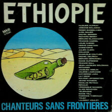 ETHOPIE Disque VINYL Maxi 45 T 1549796  France 1985 illustration Frank MARGERIN