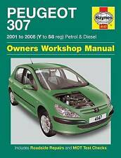 Peugeot 307 Petrol and Diesel Service and Repair Manual: 2001 to 2008 by Martynn Randall (Hardback, 2009)