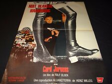 NUIT BLANCHE A HAMBOURG  curd jurgens affiche cinema 1969