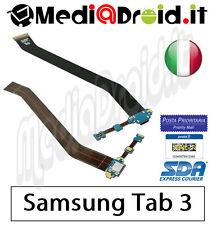 SAMSUNG GALAXY TAB 3 10.1 P5200 DOCK USB CONNETTORE RICARICA MICROFONO FLAT FLEX