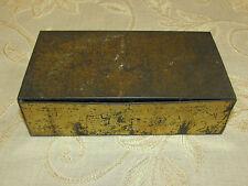 Vintage Collectable ''Savoy'' Navy De Luxe Tobaccos Tin Box