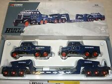 Corgi, CC 17701, 2 Scammell constructors & 24 wheel low loader PICKFORDS. boxed.