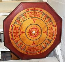 """ANTIQUE CARROM-ARCHARENA GAME BOARD 28 1/2"""" X 28 1/2"""" *EXCELLENT*"""