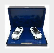 Renault Set 2X Alpine A110 Pure 2018 + A110S 2019 Blue NOREV 1:43 NV517867