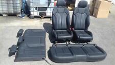 More details for 2018 audi q5 mk2 (fy) (b9)quattro sport black leather estate seats complete set