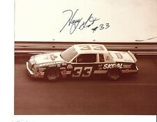 Autographed Harry Gant NASCAR Auto Racing Photograph