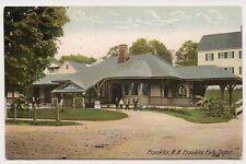 Postcard -  Franklin Falls Depot,  Franklin, N. H.