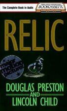 Relic; by Douglas Preston and Lincoln Child (1995, Cassette) good condition