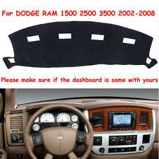 Dashmat For DODGE RAM 1500 2500 3500 2002-2008 Dash Cover Carpet Dashboard Mat