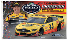 New listing Michael McDowell Daytona 500 2021 Champion 3'x5' Deluxe Nascar Racing Flag