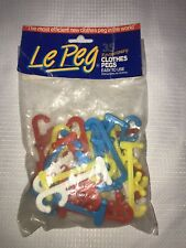 Clothes Pegs Vintage Le Peg Made In New Zealand