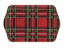 Leonardo Collection Royal Stewart Red Tartan Styled Small Snack Dish