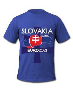 Slovakia Euro 2021 Flag Football T-Shirt