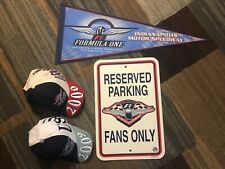 Formula 1 Memorabilia , Rare Items From Indianapolis Motor Speedway,F1 Race.