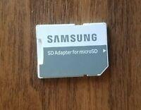 SanDisk microSD Adapter fit 4GB 8GB 16GB 32GB 64GB, White