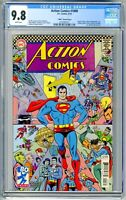 Action Comics #1000 CGC 9.8 NM 1960's Variant by Mke Allred!!!