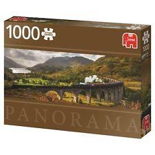 Glenfinnan Railway Panorama 18521 Jumbo Eisenbahn Zug 1000 Teile Puzzle NEU OVP