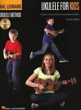 Hal Leonard Ukulele Method For Kids Learn to Play UKE Music Book & CD