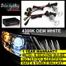 FOR BMW X3 X5 Z3 Z4 Z8 HEADLIGHT H7 XENON HID CONVERSION KIT UPGRADE 4300K WHITE