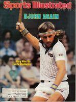 1979 (Jul. 16) Sports Illustrated Tennis magazine Bjorn Borg Wins 4th Wimbledon