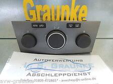 BEDIENEINHEIT Heizung Lüftung Opel Astra H 13122963