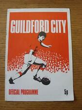 28/08/1978 Guilford City v Basingstoke [Southern league Challenge Cup] (No Appar