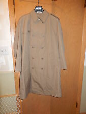 Tan Lined Trench Coat / Raincoat 40 Regular, excellent condition, Blend