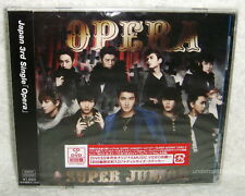 Super Junior Opera Japan Ltd CD+DVD+Sticker Card (Japanese Language)