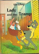 DISNEYS THE LADY AND THE TRAMP 1987  BOOK  DISNEY