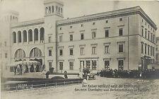 Berlin Postcard Der Kaiser Verlasst Nach Der Eroffnung Das Neue Eisenbahn Photo