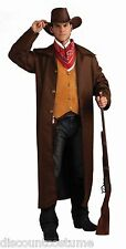 WILD WESTERN GUNFIGHTER ADULT HALLOWEEN COSTUME SIZE STANDARD FITS UP TO SIZE 42