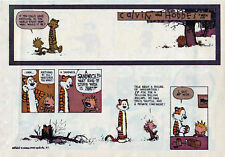 Calvin and Hobbes by Bill Watterson - color Sunday comic page - Nov. 7, 1993