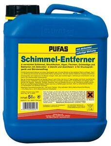 (6,20€/L) Pufas Schimmelentferner 5L