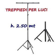 SOUNDSATION LS100 TREPPIEDE PER LUCI SUPPORTO LUCI STATIVO A T STATIVO LUCI DJ