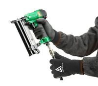 Ansell 97-631 Black Winter Lined Waterproof PVC Coated Palm Thermal Work Gloves