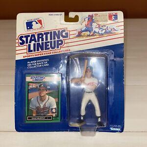 Dale Murphy - Starting Lineup Atlanta Braves MLB Kenner Figurine 1988
