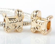2pcs Charms Beads Fit sterling 925 Necklace European charm Bracelet Chain #N268