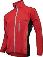 Men's Funkier Waterproof Cycling Rain Jacket 4xl Red Reflective Nylon